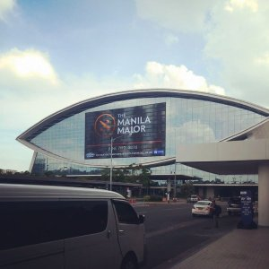 The Mall of Asia in Manila is buzzing with Manila Majors excitement!