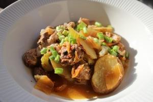 Korean Baekeoffe (Lamb and Vegetable Casserole)