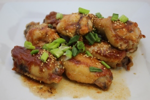 BBQ Chicken Wings for Wings Gaming