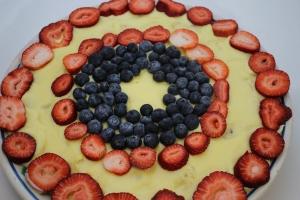 Captain America's Patriotic Pudding