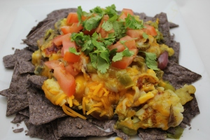Curried Fish Nachos