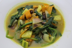 5-Minute Vegan Curry
